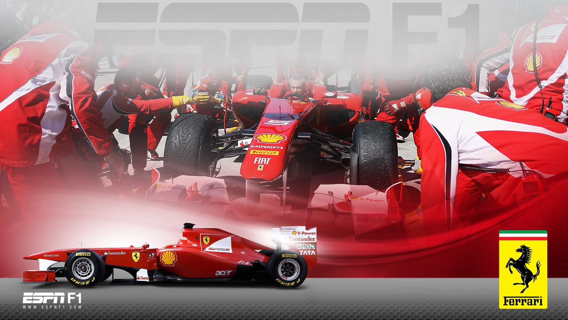 Ferrari Formula 1 Wallpapers Hd