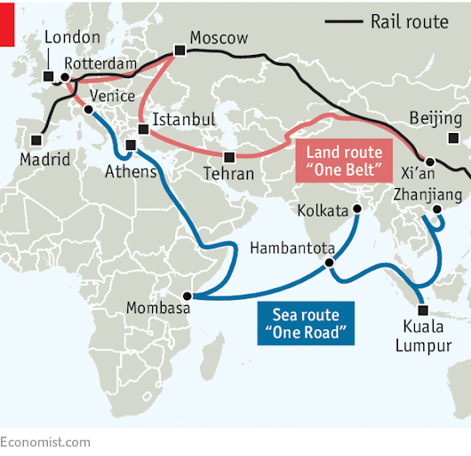 Western firms are coining it along China's One Belt, One Road