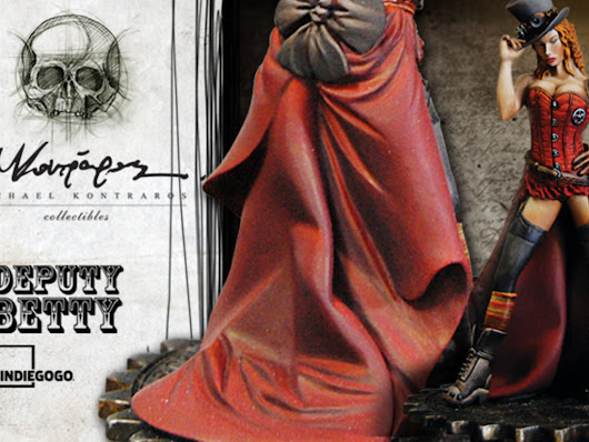 Deputy Betty miniature - M.Kontraros Collectible