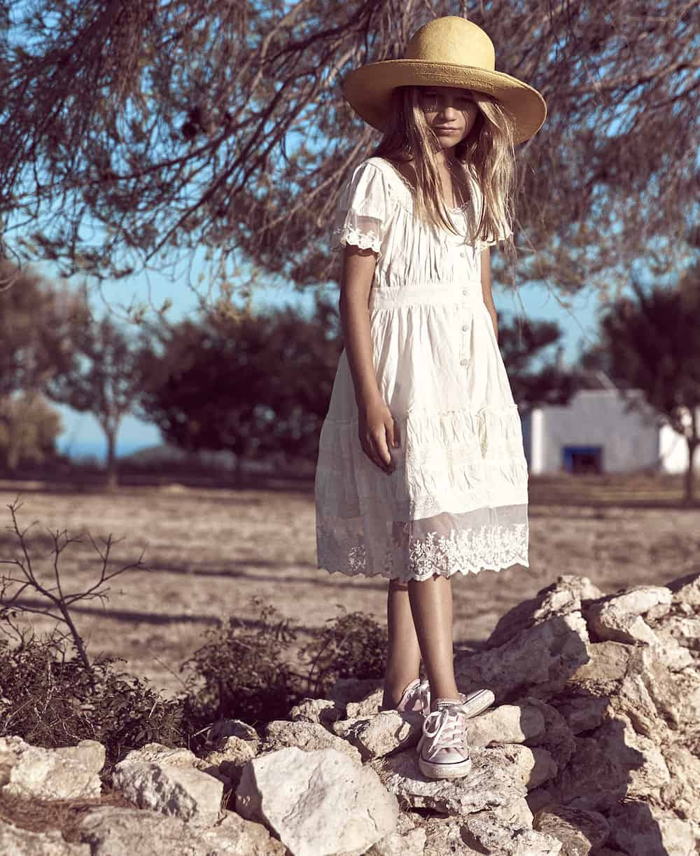 Zoe Adlersberg Earnshaw's shoot in Ibiza