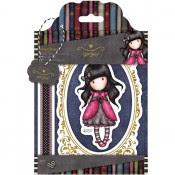 Gorjuss Urban Rubber Stamp Set - Ladybird