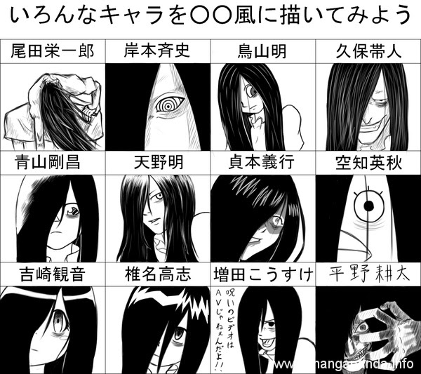 10 Times Your Favourite Anime Characters Were Drawn by Other Classic Manga Artists entertainment  One Piece Manga Death Note Attack on Titan