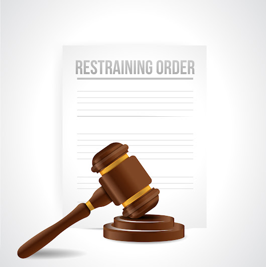 I got a restraining order against me! | Fixed Fees Divorce
