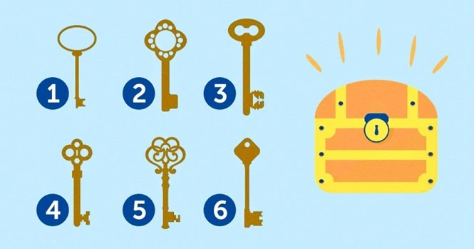 Escolha uma entre essas 6 chaves para descobrir a sua verdadeira personalidade