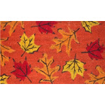 """Home & More 120961729 Fall Leaves Doormat, 17"""" X 29"""" X 0.60"""", Multicolor"""