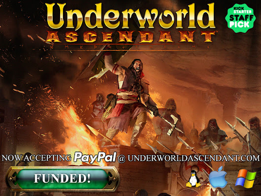 Underworld Ascendant by OtherSide Entertainment — Kickstarter