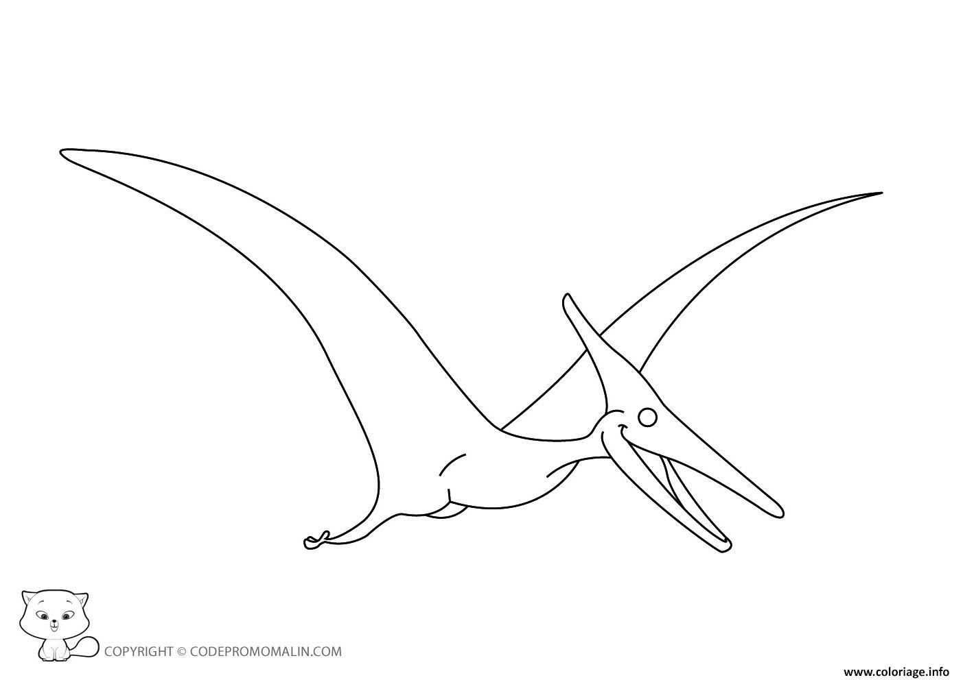 Coloriage Dinosaure 147 Dessin  Imprimer