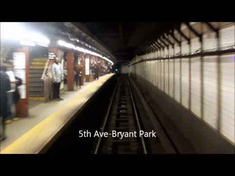 RFW ride on a NYCTA R62A 7 train from Times Square 42nd St to Grand Central