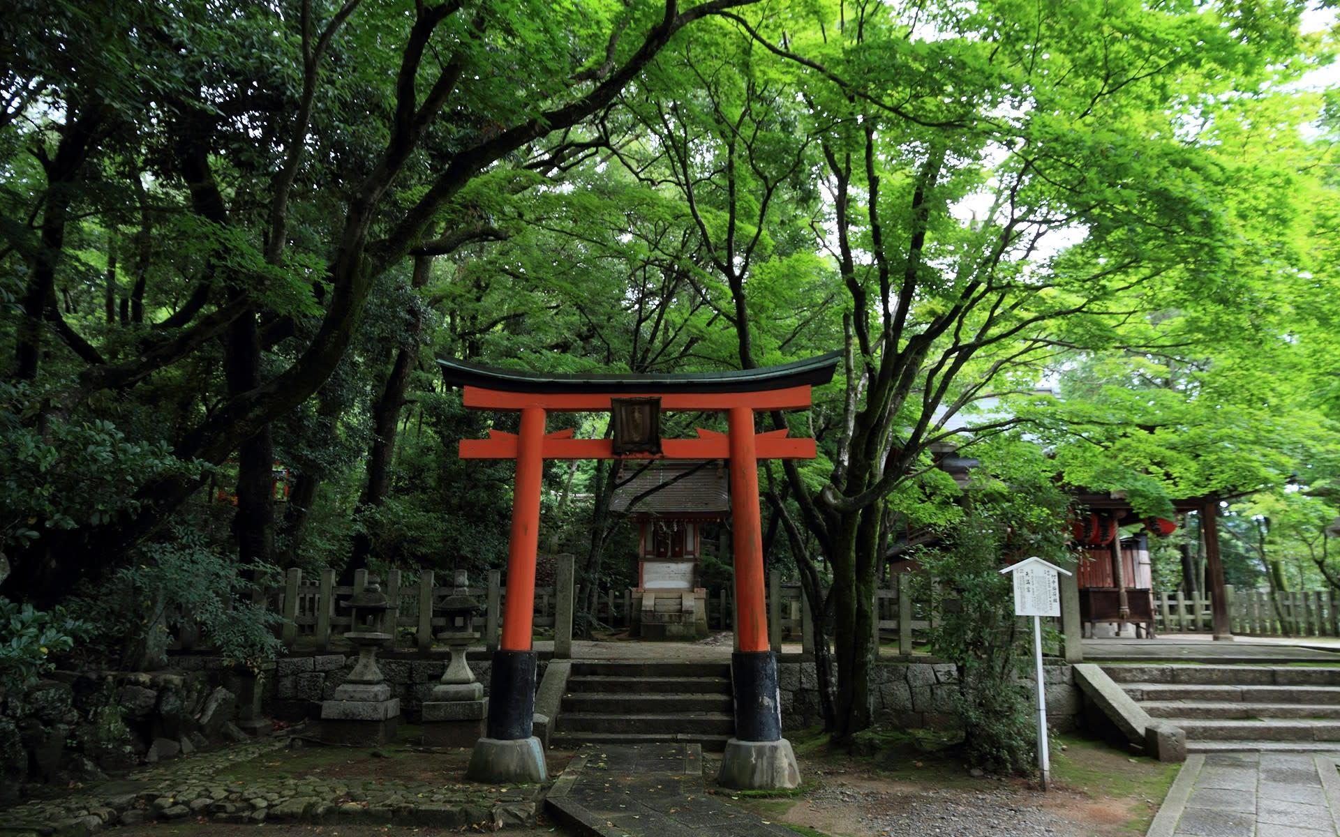 2012年夏の京都 竹中稲荷神社の壁紙 計27枚 壁紙 日々駄文