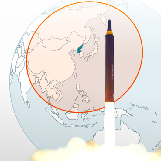 Where can North Korea's missiles reach?