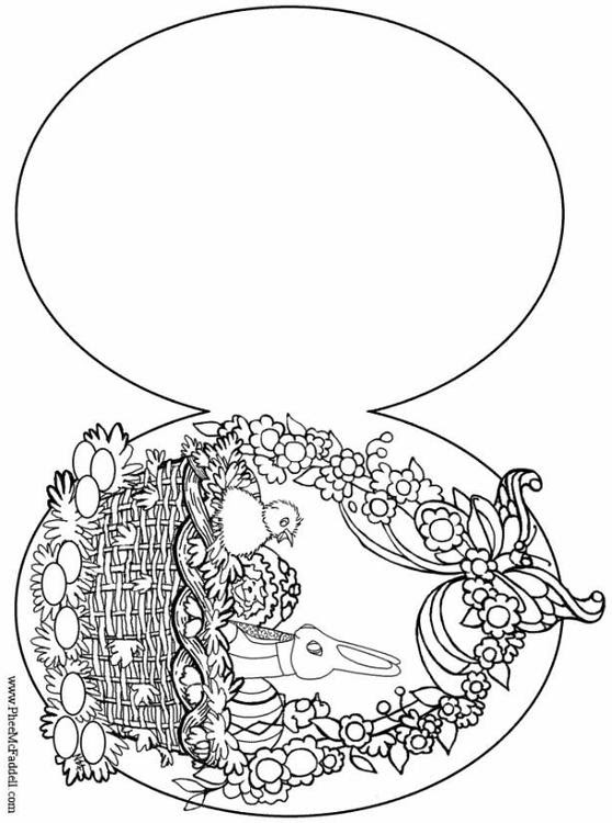 MENDEM community designs: easter eggs pictures for colouring