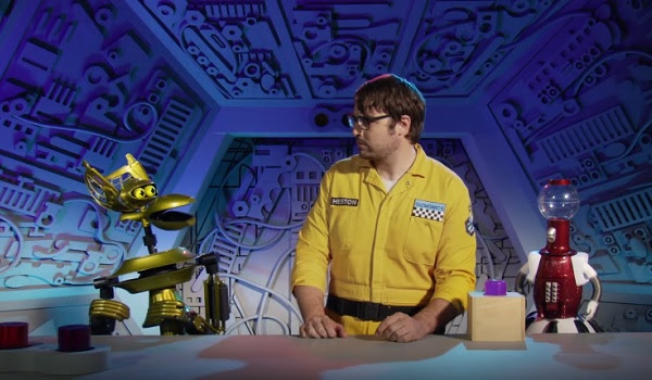 Mystery Science Theater 3000 Reboot Jonah Ray and The Bots