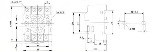 China 11 Pin Relay Base Manufacturers And Suppliers Factory Wholesale Meishuo Electric