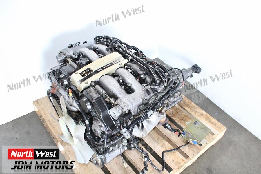 Jdm 90 95 Nissan 300zx Vg30de Engine 3 0l Fairlady Z Non Turbo Motor Japanese Car Parts