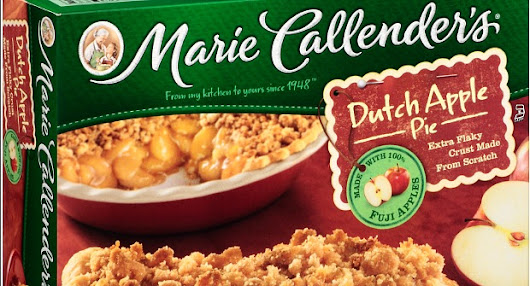 Marie Callender's Sweepstakes! Win $100 Visa Gift Card! - Reel Life With Jane