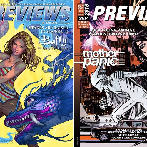 Episode 204: The September Previews Catalog by comicsalternative