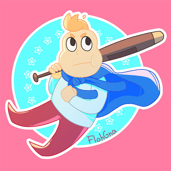 *steven voice* OONIIOOOOOON I'll have it as a sticker soon, & it's already available on my Redbubble here.