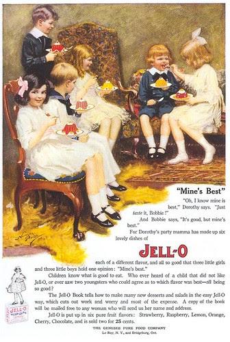 Jello-O ad, 1912