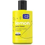 CLEAN & CLEAR Lemon Juice Facial Toner with Lemon Extract & Vitamin C, Alcohol-Free Cleansing Face Toner 7.5 oz by Pharmapacks