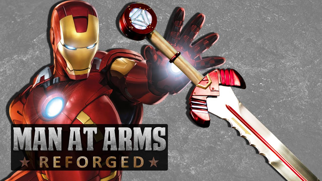 Man at Arms: Reforged Espada do Homem de Ferro - Mundo Nerd Info