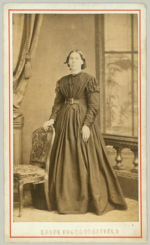 CDV Woman Standing