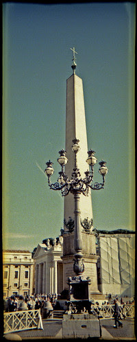 St. Peter's Square obelisk by pho-Tony