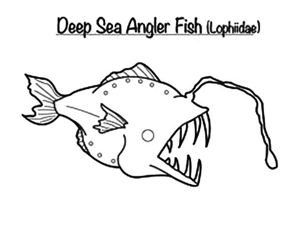 The Deep - Free Colouring Pages