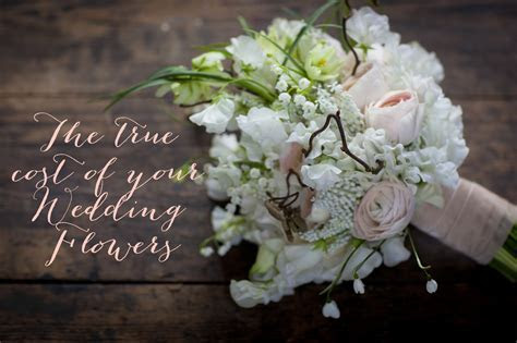 True cost of wedding flowers   So You're Getting Married