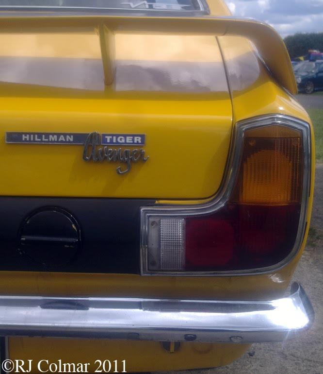 Hillman Tiger Replica, Castle Combe, C&SCAD