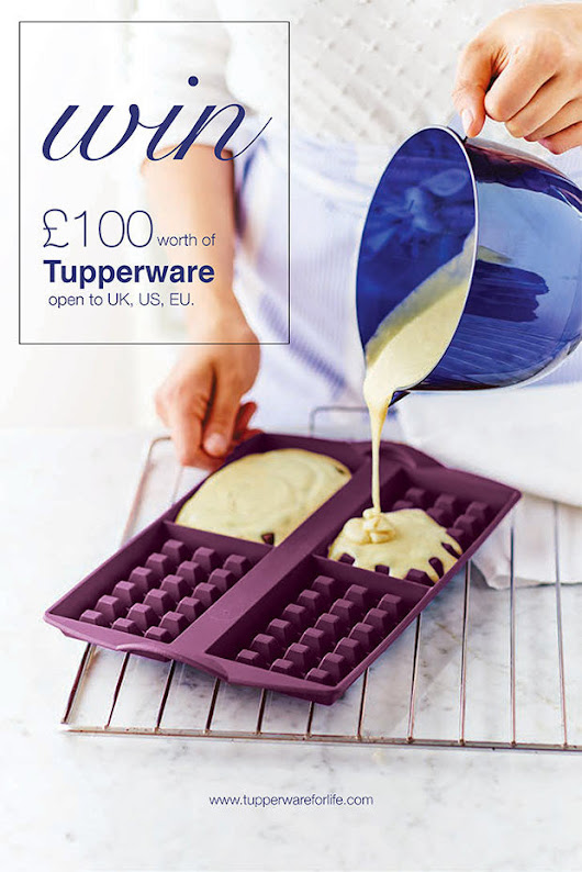 £100 Tupperware Giveaway - Pick your own prize – Tupperware For Life