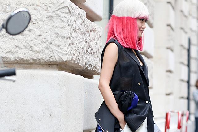 Неделя высокой моды в Париже: street style. Часть 3 (фото 1)