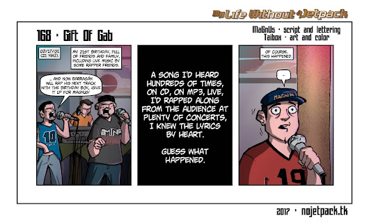 My Life Without A Jetpack - 168 - Gift Of Gab.
