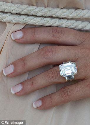 Kim Kardashian's engagement ring designed by Kanye West