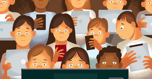 Screen Addiction Is Taking a Toll on Children