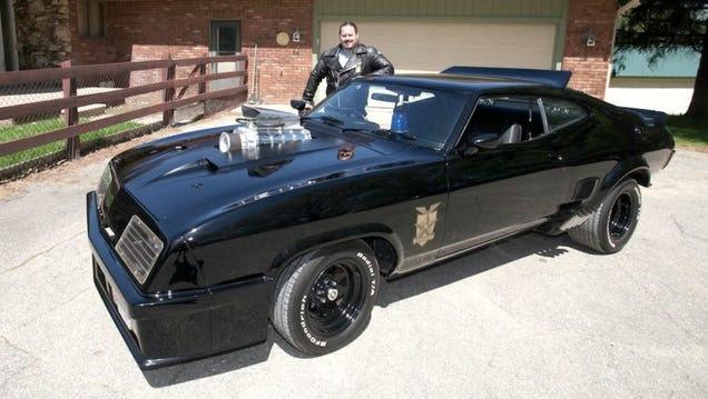 Un fanático crea su propia réplica del auto de Mad Max, y luce genial