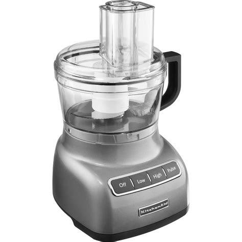 kitchenaid kfpcu contour silver  cup food processor