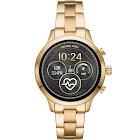 Michael Kors Runway Touchscreen Smartwatch, 41mm - Black/Gold