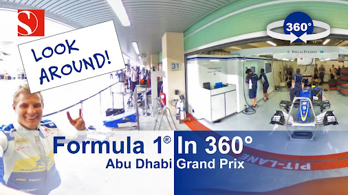 VIDEO: F1 in 360° - Abu Dhabi Grand Prix - Sauber F1 Team  How much do you miss F1 already?! 😀 Not ...