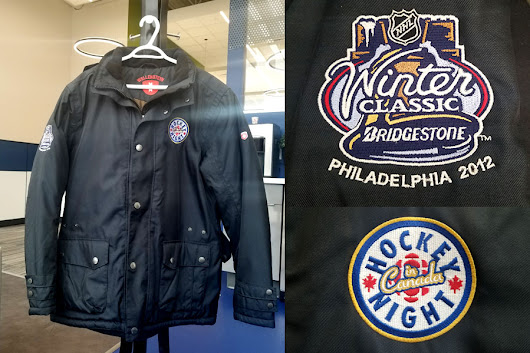 Win a Hockey Night In Canada Winter Classic Jacket