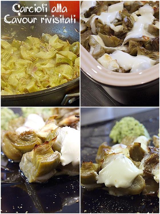 Carciofi alla Cavour rivisitati - Kraft Cooking Session