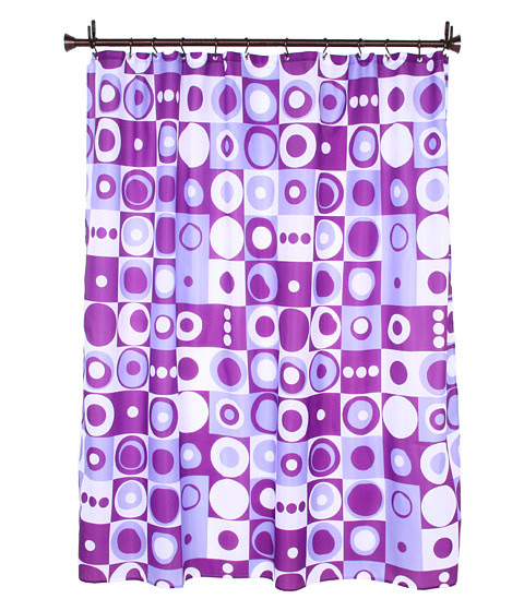 InterDesign Mod Square Shower Curtain - Zappos.com Free Shipping ...