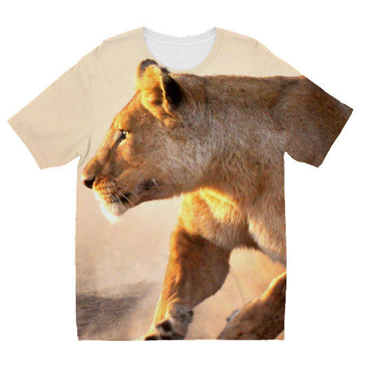 Kids Sublimation TShirt - Sometimes with Rene