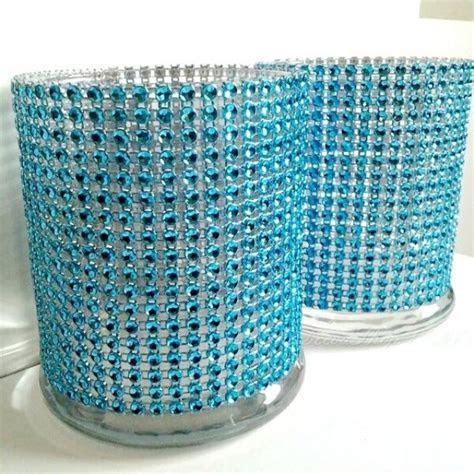 Cylinder Vase Cocktail Hour / Bar Vases Lot Turquoise Teal