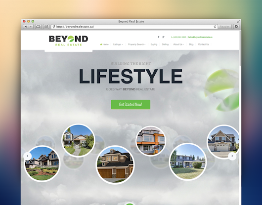 Fully responsive real estate websites on myRealPage