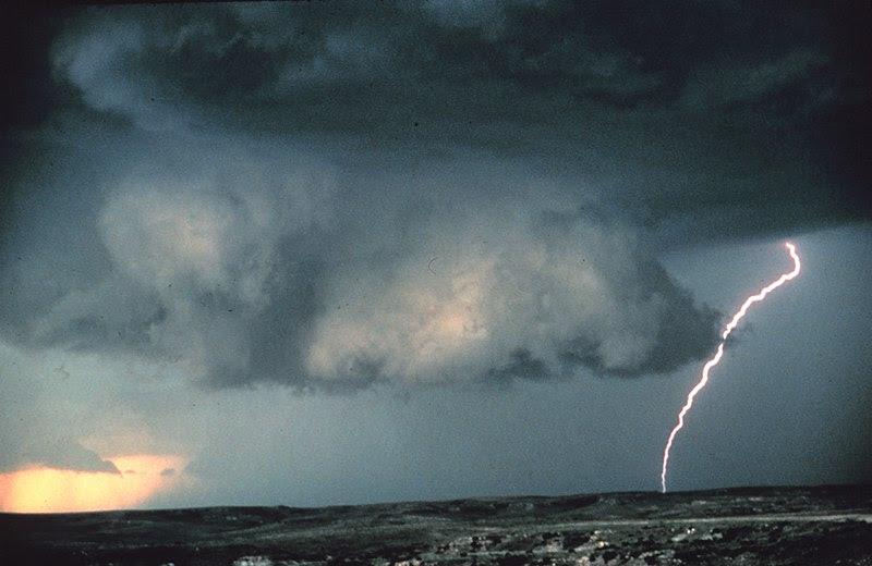 File:Wall cloud with lightning - NOAA.jpg