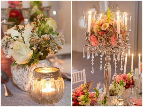 Elegant Vintage Wedding Ideas in Peach & Silver {Josie