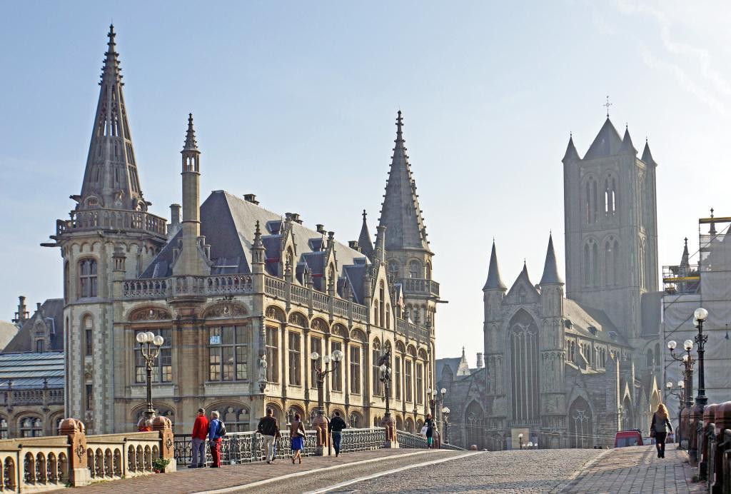 Tour Of Gent Architecture Ghent Belgium