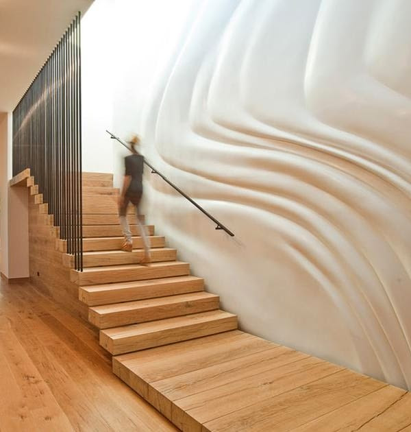 Decorating Ideas for Stairway Walls | Modern Interiors