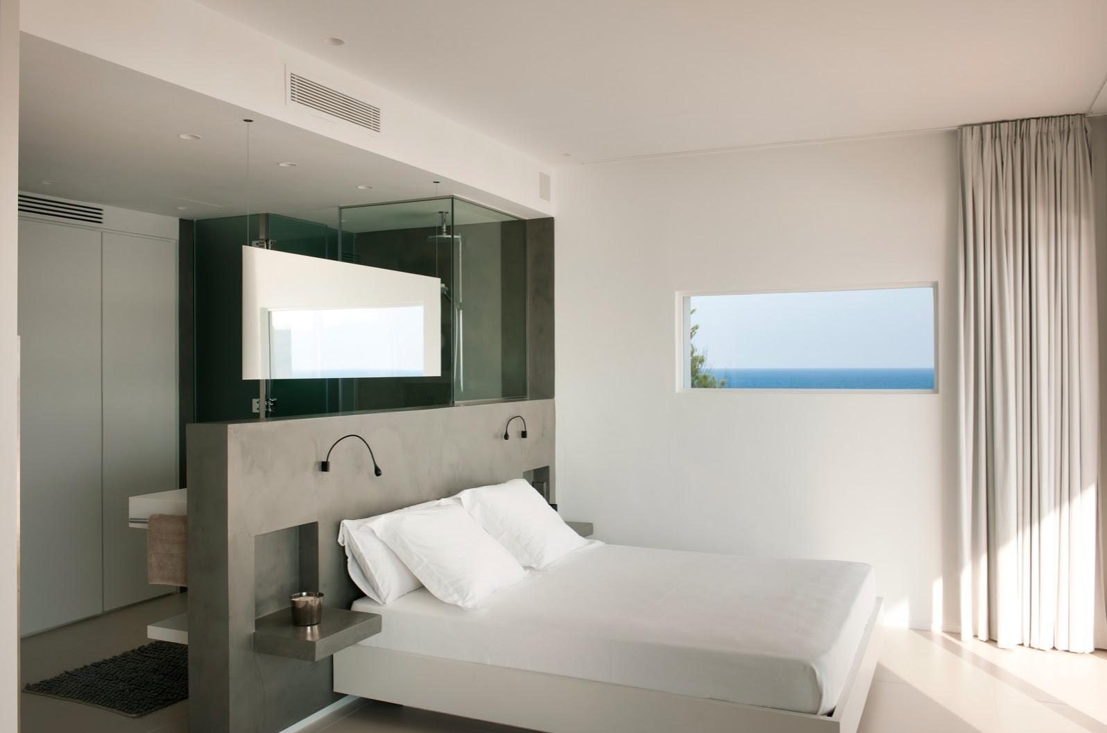 The simple interior