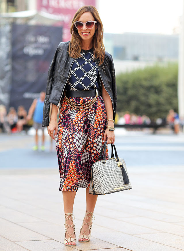 Sydne-Style-New-York-fashion-week-street-style-blogger-trina-turk-spring-2015-how-to-mix-prints-gold-chains-textured-bag